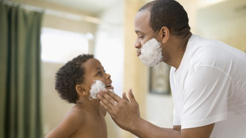 dad-generic-and-son-shaving