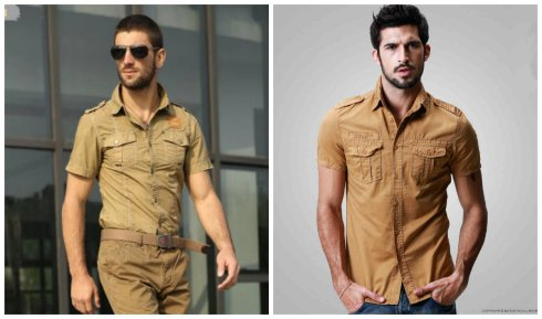 Military-style-shirts-Mens-fashion-shirts-trends-2016-2