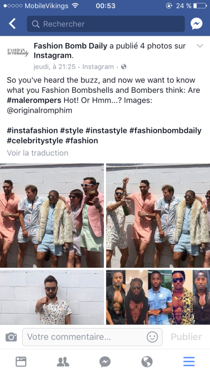 Fashion Bomb Daily - rompers